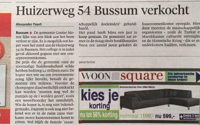 Huizerweg 54 Bussum verkocht