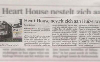 Heart House nestelt zich aan Huizerweg