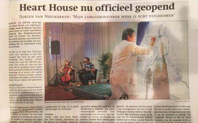 Heart House nu officieel geopend