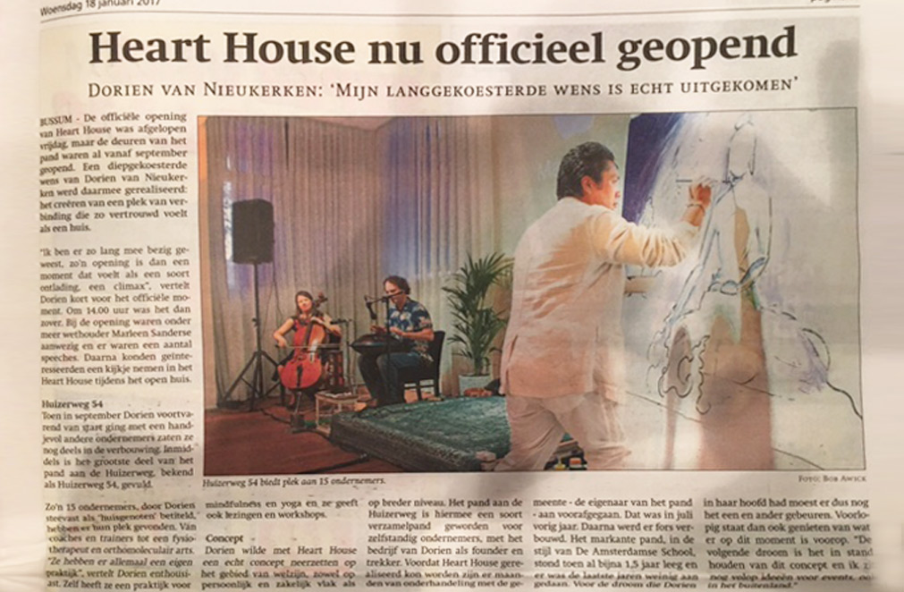 Heart House nu officieel geopend
